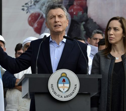 Resultado de imagen para Macri y Vidal casas de encuentro