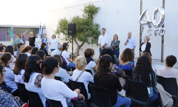Ducot inaugur el ciclo lectivo del instituto de for Instituto formacion docente